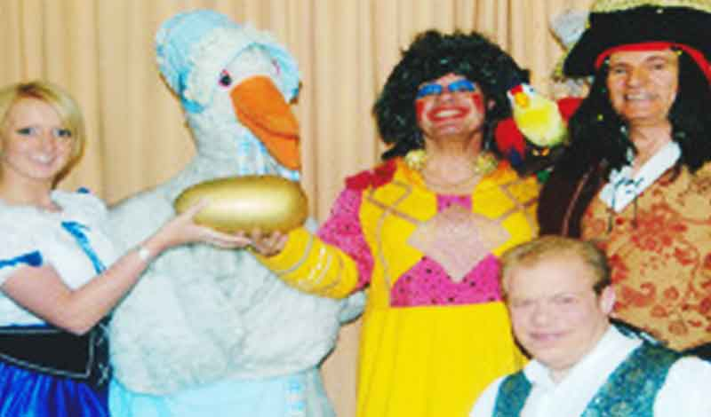 mother goose panto for hire